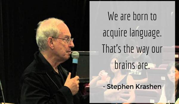 Изучение английского по Стивену Крашену